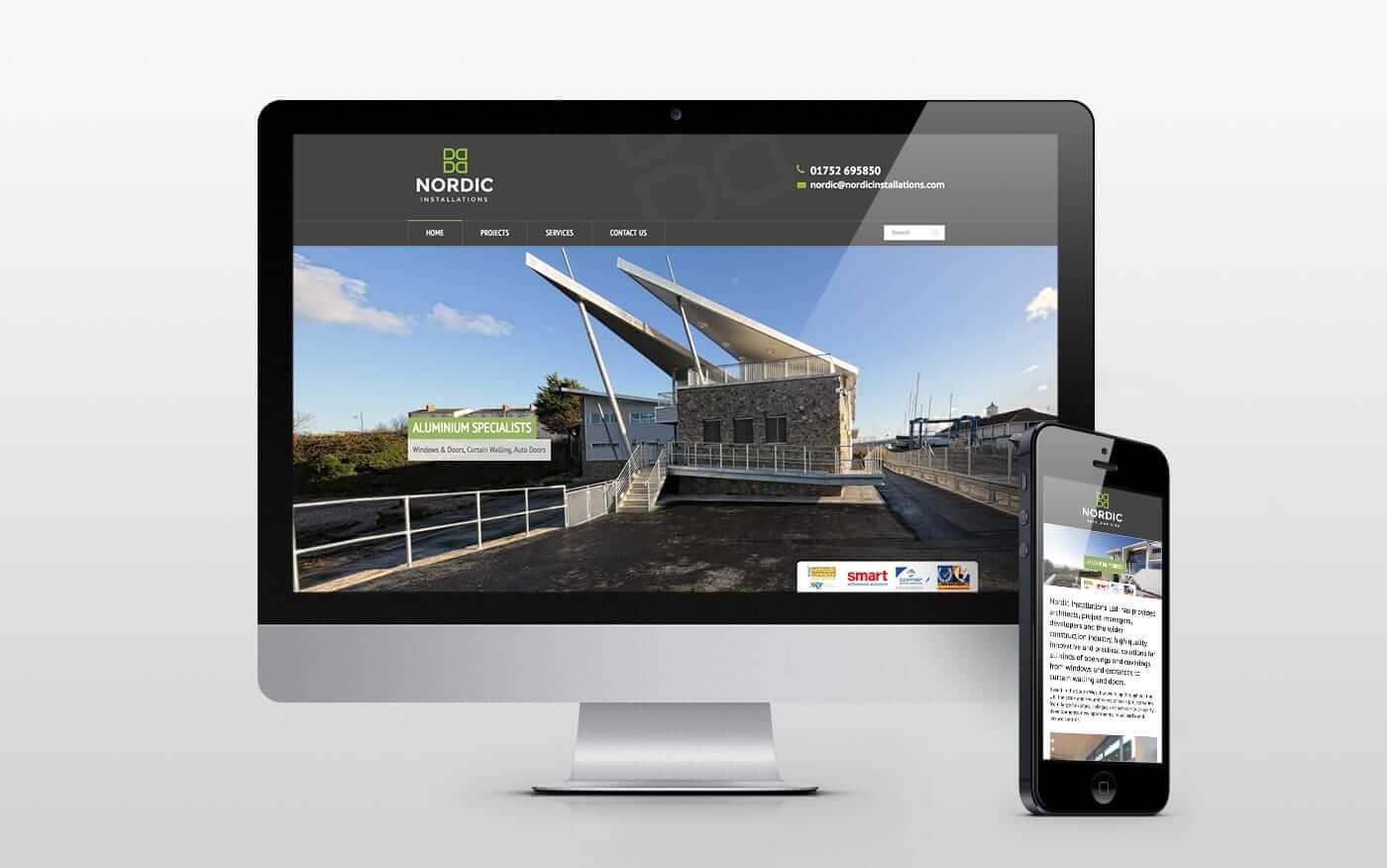 Nordic Installations Responsive Website Design