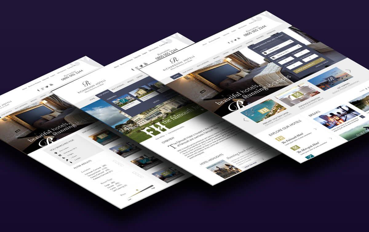 Richardson Hotels Responsive Website Design