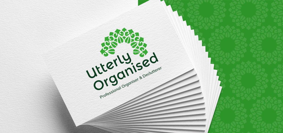 utterly-organised-logo-design